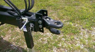 Pintle clevis hitch